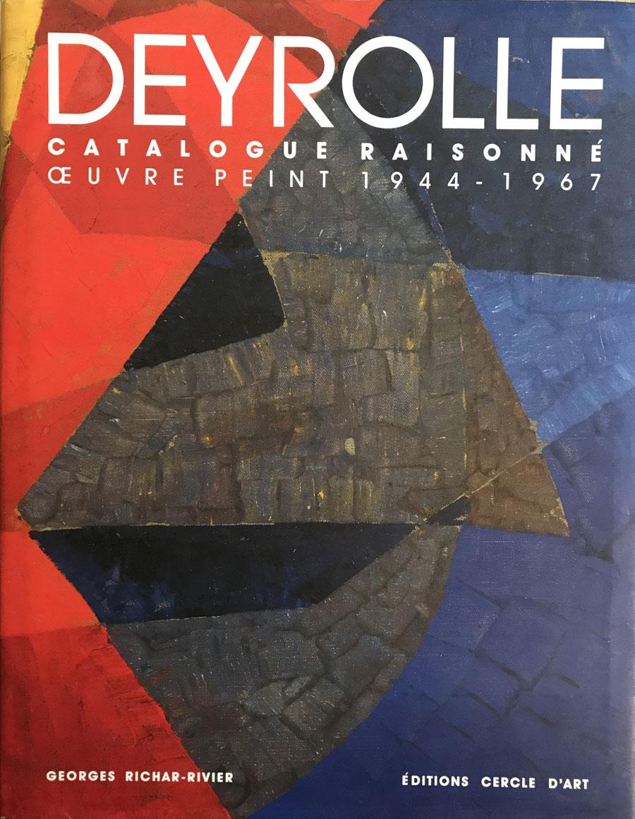 Deyrolle, catalogue raisonné l'oeuvre peint